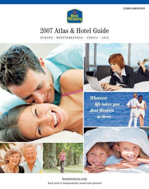 2007 Atlas Hotel Guide Best Western Hotel Schaper
