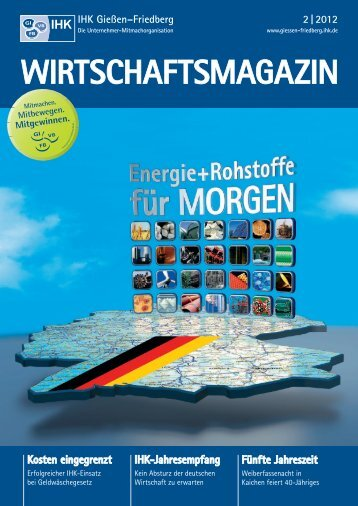 Ausgabe 02/2012 - IHK Gießen Friedberg