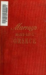 Handbook for travellers in Greece - Index of