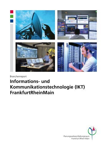 Branchenreport Informations - Region Frankfurt und Rhein-Main
