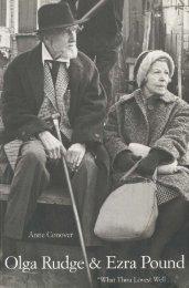 Olga Rudge & Ezra Pound: