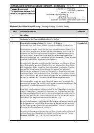 KGR Protokoll vom 17. Oktober 2012 - Evangelische ...