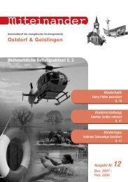 (PDF) Ostdorf & Geislingen - Evangelische Kirchengemeinde ...