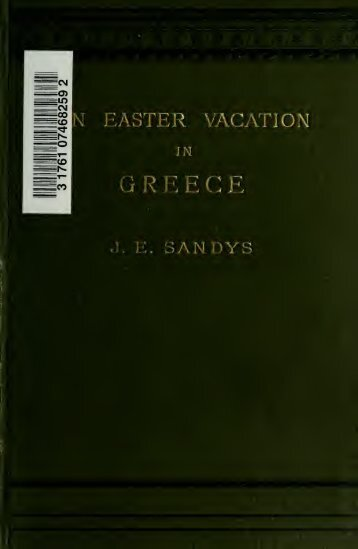 An Easter vacation in Greece, with lists of books on Greek travel and ...