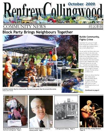 October - Collingwood Neighbourhood House