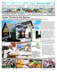 Green Thumb to the Rescue - Collingwood Neighbourhood House
