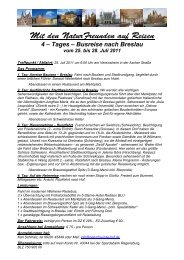 4 – Tages – Busreise nach Breslau vom 25. bis ... - NaturFreunde Hof