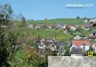 mitteilungen 11/11 - Gemeinde Eglisau