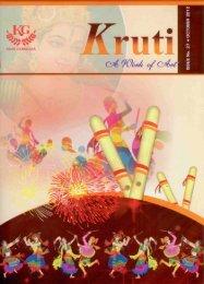 Kruti – October'2012 - Khar Gymkhana