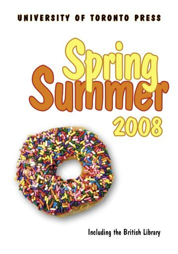 Spring/Summer 2008 - University of Toronto Press Publishing
