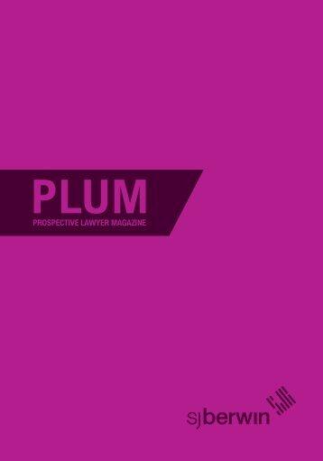 SJ Berwin - PLUM 2009