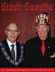Gizeh Gazette - Gizeh Shrine Temple