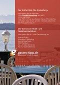 Mit 2 Klicks zum Hotel, Restaurant, oder Tagungsort ... - gastro-tipp.ch - Seite 6