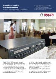2,05 MB - Bosch Sicherheitssysteme GmbH