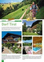 Dorf Tirol - LMS Reisen
