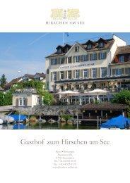 Bankett-Dokumentation - Gasthof Hirschen
