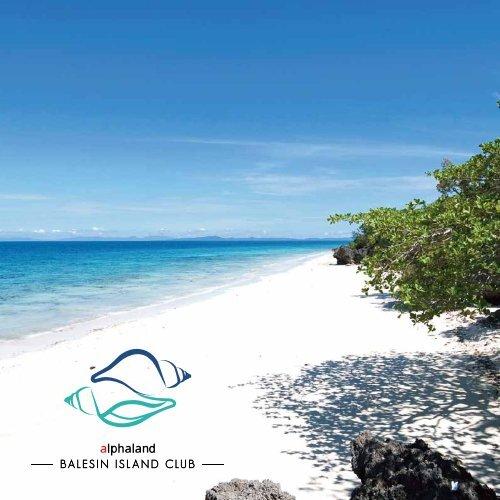 About Us Balesin Island Resort
