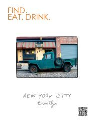 F.E.D. NYC Brooklyn City Guide - Find. Eat. Drink.