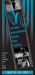 International Jewish Film Festival - The Jewish Community Center of ...