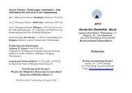 Meßstetten Jahresprogramm 2013.pdf - Deutscher Diabetiker Bund ...