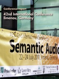 42nd International Conference, Ilmenau, Germany (2011)