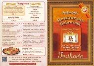 WEB Dubrovnik PI Festkarte 2012 - Restaurant Dubrovnik Pinneberg