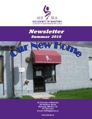 Newsletter Summer 2010.pub - ALS Society of Manitoba