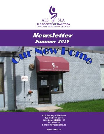 Newsletter Summer 2010.pub - ALS Society of Manitoba