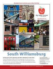 South Williamsburg Neighborhood Profile - Big Apple Greeter