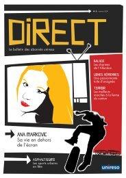 Téléchargez DIRECT n°8 - Unireso