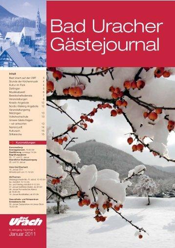 Januar 2011 (PDF) - Bad Urach