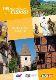 Das Unterelsass, Kultur Pur - Agence de développement touristique ...