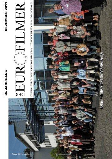 """""""Der Eurofilmer"""" Dezember 2011 - SportOn.de"""