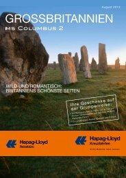 GrossbritAnnien - Hapag-Lloyd Reisebüro