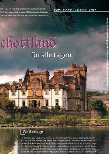 Schottland Schottland - Convention-International