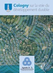 Cologny sur la voie du développement durable - Cosadgip SA