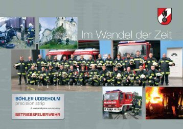 Ausrüstung der Betriebsfeuerwehr Böhler ... - Gemeinde Sonntagberg
