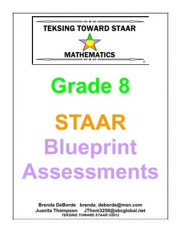 Staar and staar modified grade 7 reading blueprint with teks blueprint assessments teksing toward staar malvernweather Images