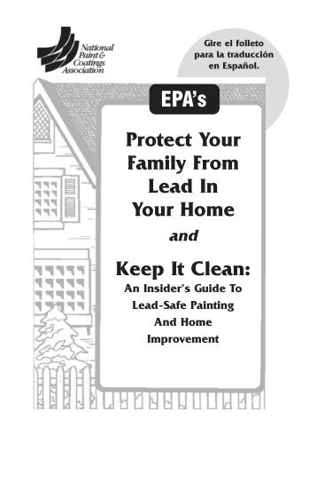 Protect Your Family From Lead In Your Home and Keep It Clean