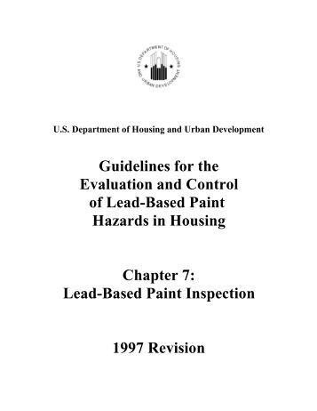 284 155 03 c 04 for Lead based paint inspection