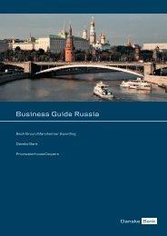 Business Guide Russia - Danske Banka