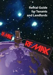 Rental Guide for Tenants and Landlords - RE/MAX Midlands