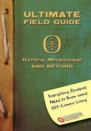 Ultimate Field Guide - The University of Mississippi