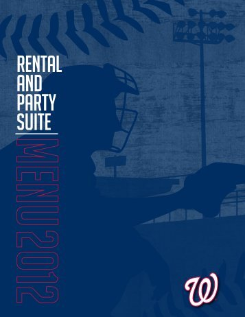 rental and party SUITE - Washington Nationals