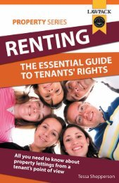 Renting: The Essential Landlord's Guide to Tenants' - Lawpack ...