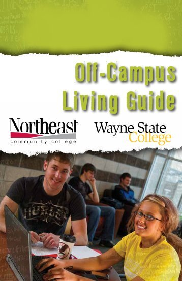 Off-Campus Living Guide - Wayne State College