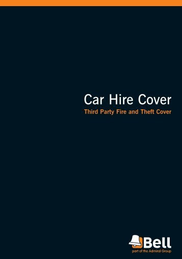 Car Hire Cover - Bell