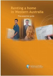 Renting a home in Western Australia - Unilife