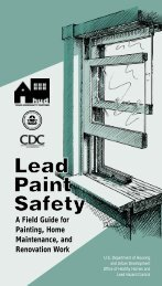 Lead Paint Safety: A Field Guide for Painting - HUD