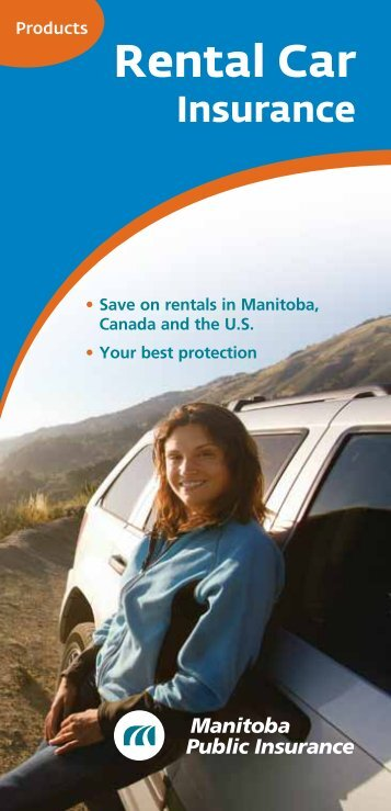 Rental Car - Manitoba Public Insurance